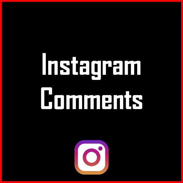 Instagram Comments Produkt