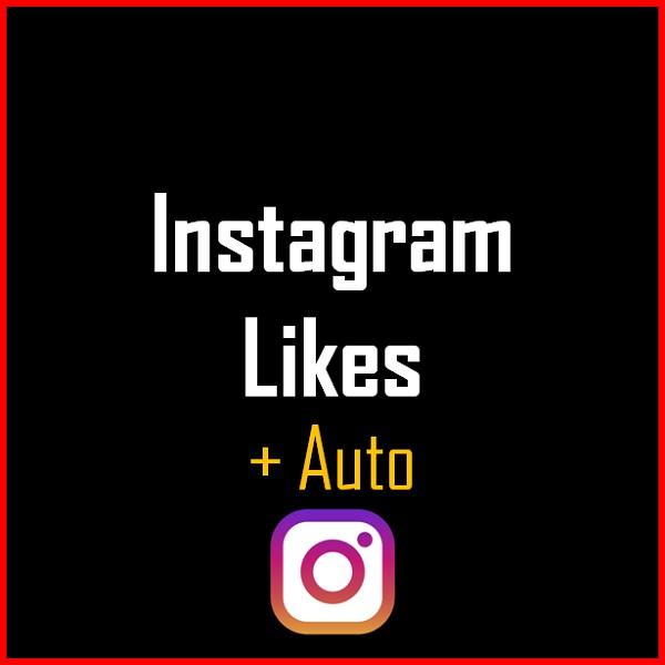 Instagram Likes + Auto Produkt