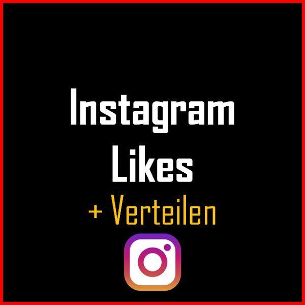 Instagram Likes + Verteilen Produkt